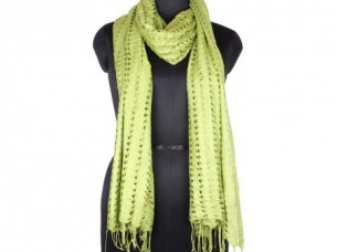 Vintage Look Rayon Net Scarf for Girls SC0203..