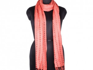 Vintage Look Rayon Net Scarf for Girls SC0204..
