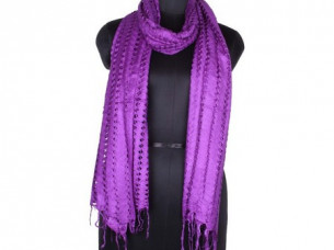 Vintage Look Rayon Net Scarf for Girls SC0205..