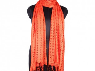 Vintage Look Rayon Net Scarf for Girls SC0209..