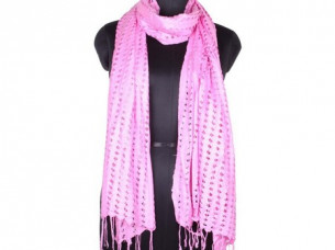 Vintage Look Rayon Net Scarf for Girls SC0211..