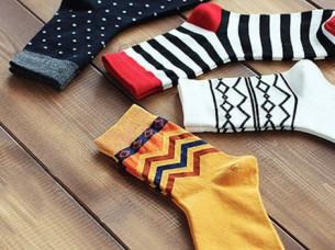 100% Cotton Colorful Style Men Fashion Socks..