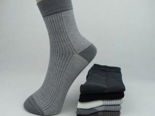 knee High Business Stripe Pattern Men Socks..