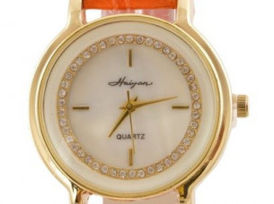 Fashionable Leather Strap Watch WTH60..