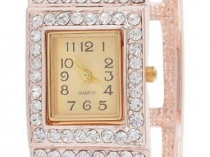 My DT Lifestyle rose gold metal bangle style women's watch..