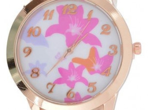 My DT Lifestyle white & rose gold fashion watch WTH75..