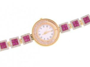 American Diamond Studd Partwear Womens Watch WTH84..