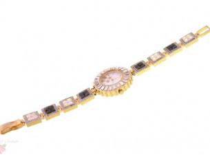 American Diamond Studd Partwear Womens Watch WTH85..