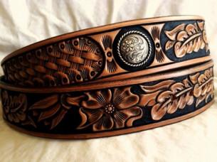 High Quality Western Leather Belt..