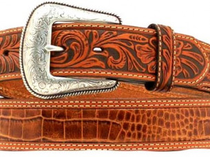 Cow Boy Western Leather Belt..