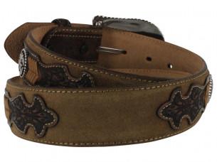 Designer Look Antique Fashion Leather Belt..