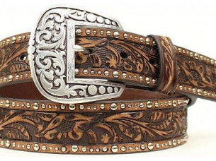 High Quality Silver Buckle Fashion Leather Belt..