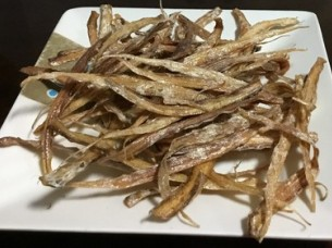 Dried Small Golden Anchovies..