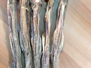 Dried and Salted small Bombay Duck..