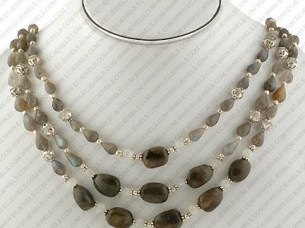 Beaded Jewelry Necklace Set..