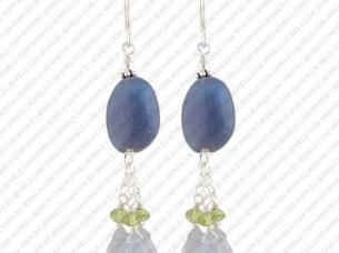 Trendy Design Crystal Earrings..