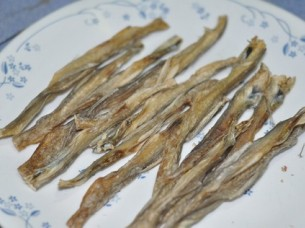 Dried small Bombay Duck..