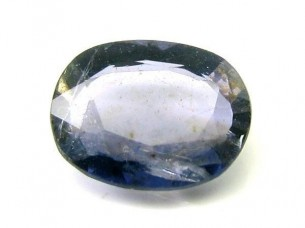 1.9Ct Natural Iolite Kaka Nilli Gemstone Substitute of Blu..