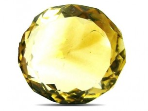 4.3Ct Natural Yellow Citrine (Sunella) Oval Cut Gemstone..