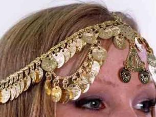 Belly Dance Head Jewelry..