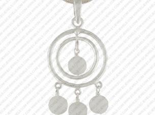 Silver Charm pendant..