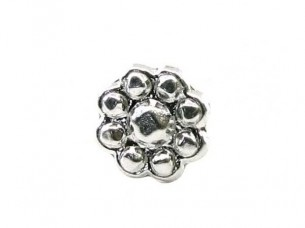 Precious Sterling Silver Body Piercing Jewelry Nose Stud P..