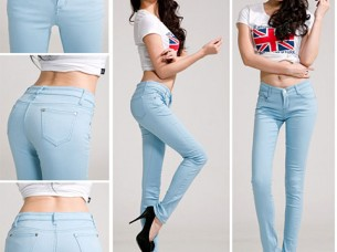 Best Quality Plain Skinny Casual Womens Jeans..