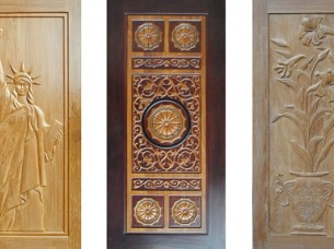 Teak Wood Solid Door..