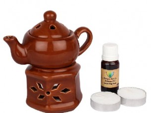 Aromacare Home Ceramic Unique Creative Home Oil Burner..