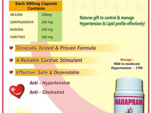 MAHAPRANA CAPS (HYPERTENSION CONTROL)..