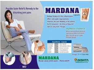 MARDANA CAPS (MUSCULOSKELETAL PAIN RELIEF)..