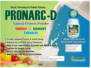PRONARC-D POWDER (DIABETES PROTEIN SUPPLEMENT)..