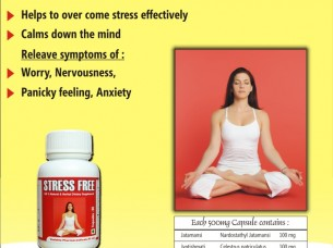 STRESS FREE CAPS..