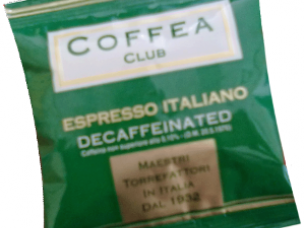 Coffea club Decaffeinated..