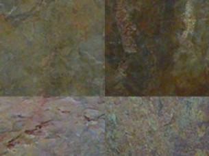 Multicolored Slate Stone..