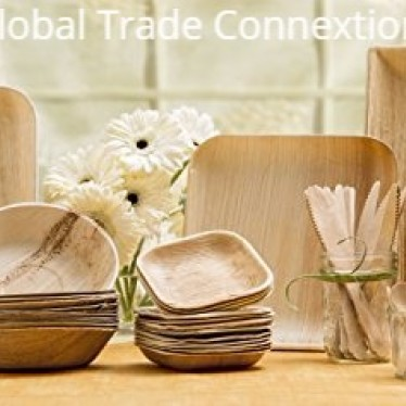 Natural Disposable Areca Leaf Plates and Bowls