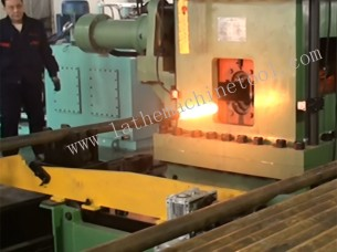 pipe upsetting  press  for Upset Forging of  Oil Field tub..