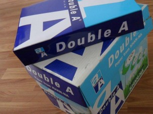 AA A4 copy paper..