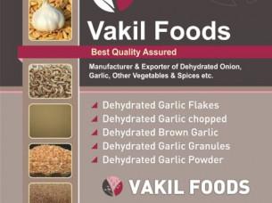 Dehydrated Garlic Flakes..