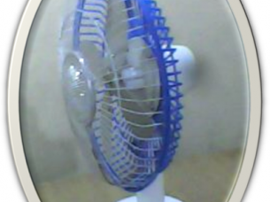 Solar Table Fan Plastic Body..